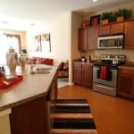 Amli Galatyn Station Apartment Kitchen Area..