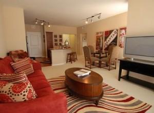 Amli Galatyn Station Apartment Living Area..