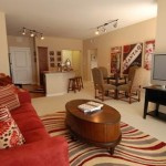 Amli Galatyn Station Apartment Living Area..
