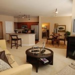Amli Galatyn Station Apartment Living Area