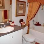Clearwater Creek Apartment Washroom