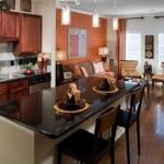 Post Eastside Apartment Kitchen Area