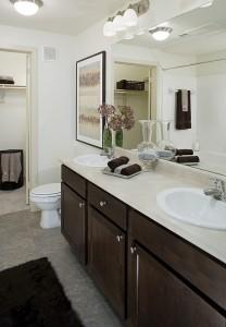 The Pradera Apartment Washroom