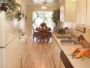 Belle Grove Apartment Kitchen
