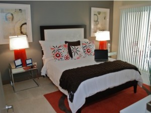 Brick Row Bedroom