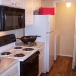 Cutter's Point Apartment Kitchen