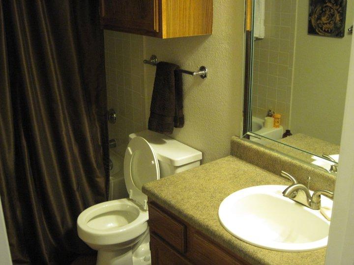 Spring Pointe Apartments Washroom - Richardson Apartments